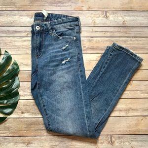 Anthropologie Pilcro Slim Boyfriend Jeans 26